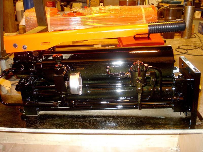 Cilindro diseñado con bomba hidráulica manual